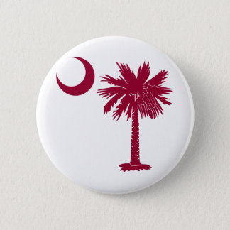 Garnet Palmetto Pinback Button
