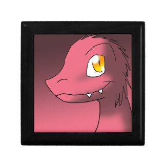 Garnet-Ruby-Tint Microraptor Jewelry Box