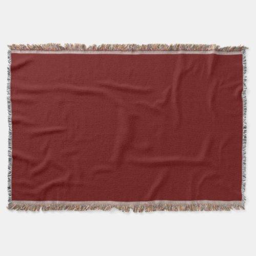 Garnet Throw Blanket