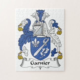 Garnier Family Crest Puzzles