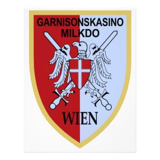Garnisonskasino Militarkommando Wien Personalized Letterhead