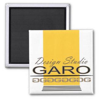 Garo Design 2 Inch Square Magnet