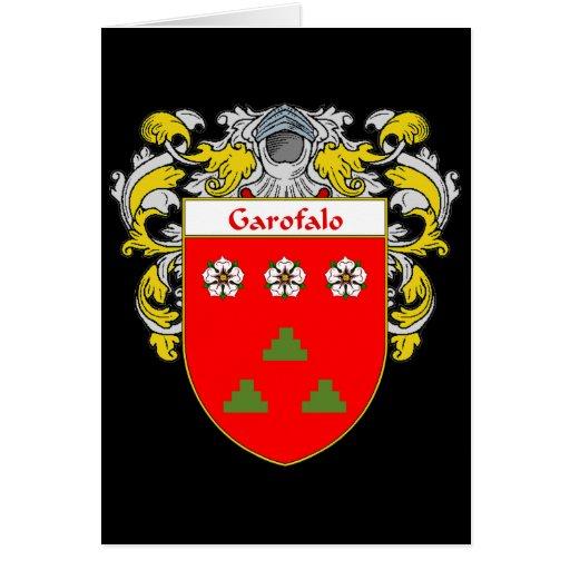 Garofalo Coat of Arms (Mantled) Card