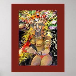 **Garota Do Carnaval** Print