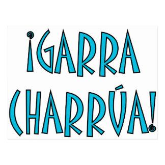 Garra charrúa postcard