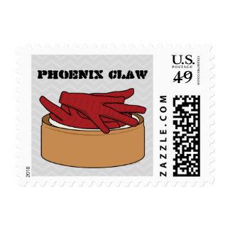 Garra de Dim Sum Phoenix de los pies del pollo Timbres Postales