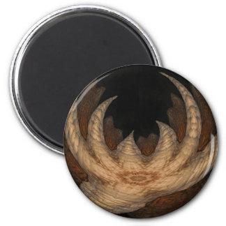 Garra de la cueva imán redondo 5 cm
