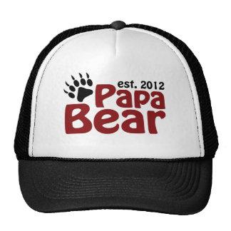 garra de oso de la papá 2012 gorras