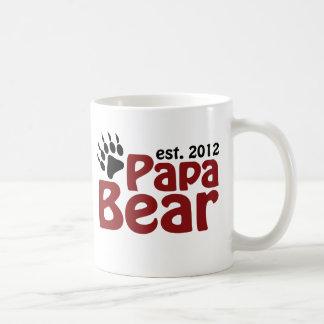 garra de oso de la papá 2012 tazas