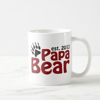 Garra de oso de la papá 2013 taza