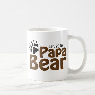 garra de oso de la papá est 2010 tazas