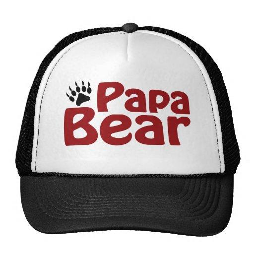 Garra de oso de la papá gorra