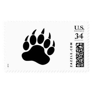 Garra de oso del orgullo del oso negro (r) sello postal