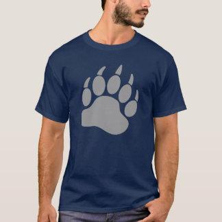 Garra de oso gris del orgullo del oso (r) playera