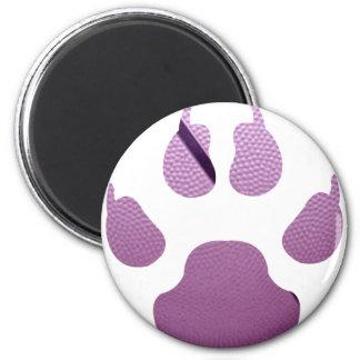 Garra púrpura imán redondo 5 cm