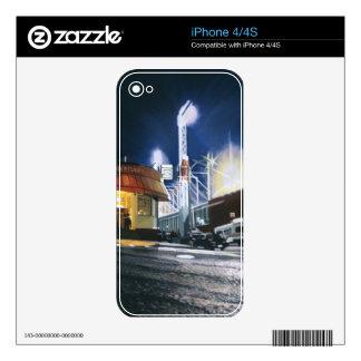 Garrafa de Cask'N, piel de Boston iPhone 4 Skins
