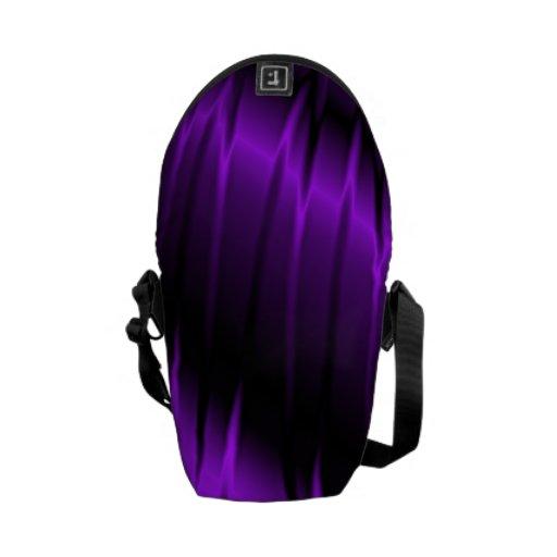 Garras de la lila bolsa messenger