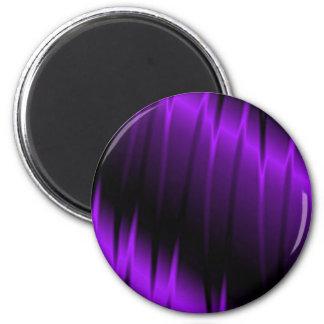 Garras de la lila imán redondo 5 cm