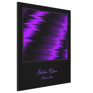 Garras de la lila impresión en lienzo