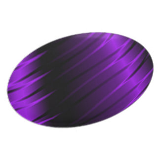 Garras de la lila plato de cena