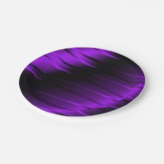 Garras de la lila platos de papel
