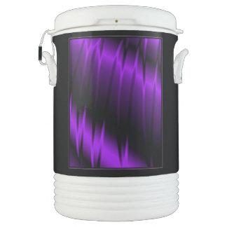 Garras de la lila refrigerador de bebida igloo