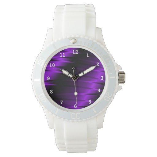 Garras de la lila relojes de mano
