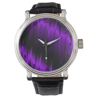 Garras de la lila relojes de pulsera
