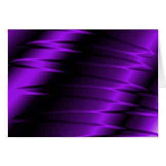 Garras de la lila tarjeta de felicitación