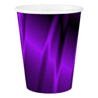 Garras de la lila vaso de papel