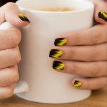 Garras de oro pegatina para uñas