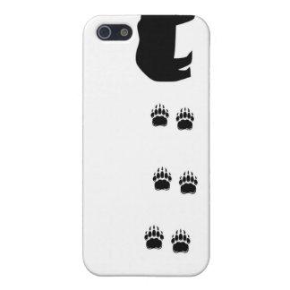 Garras de oso negro iPhone 5 funda