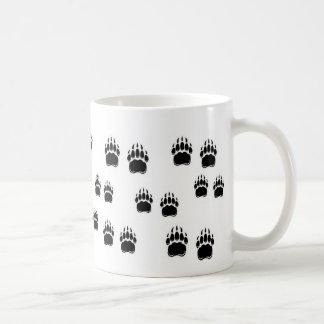 Garras de oso negro taza clásica
