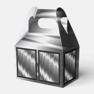 Garras de plata caja para regalos de fiestas
