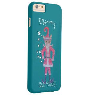 Garras de Santa de la ciudad Gato-Mas Funda Barely There iPhone 6 Plus