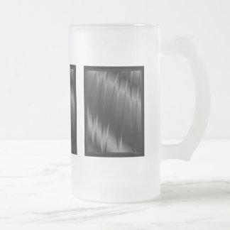 Garras grises taza de cristal