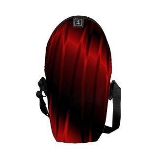 Garras rojas bolsa de mensajeria