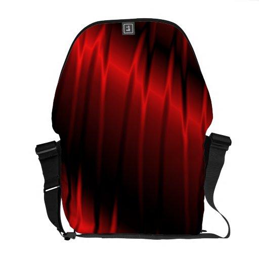 Garras rojas bolsa messenger