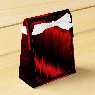 Garras rojas caja para regalo de boda