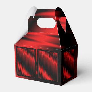 Garras rojas cajas para regalos de boda
