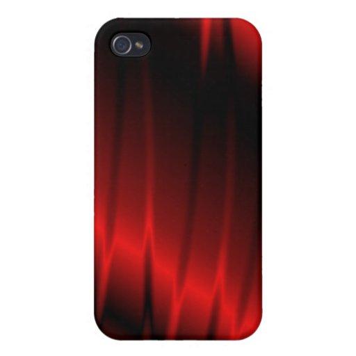 Garras rojas iPhone 4 funda