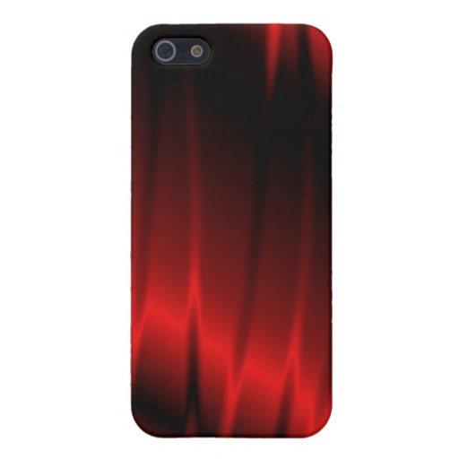 Garras rojas iPhone 5 funda
