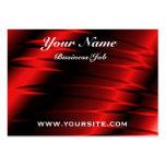 Garras rojas plantillas de tarjeta de negocio
