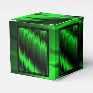 Garras verdes caja para regalo de boda