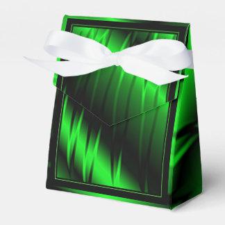 Garras verdes caja para regalos de fiestas