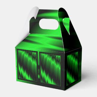 Garras verdes cajas para regalos de fiestas