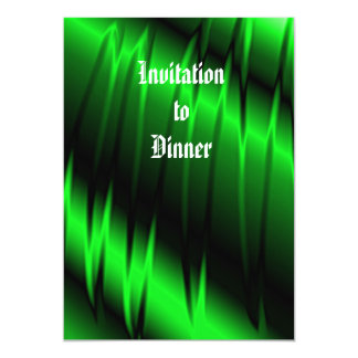 Garras verdes invitacion personal