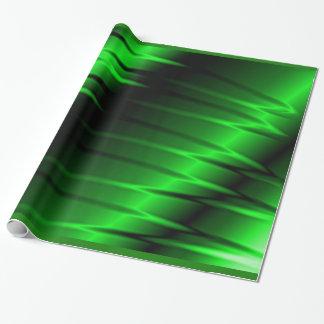 Garras verdes papel de regalo