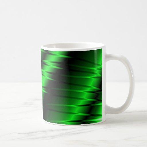 Garras verdes tazas de café