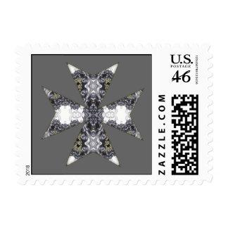 Garras y mandala cruzada del caleidoscopio de los  sellos